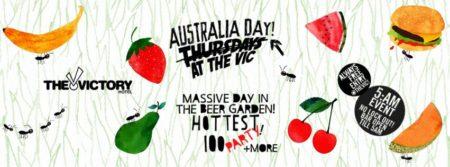 australia day at the vic