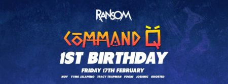 x RANSOM BNE TURNS ONE x What a year its been, we've loved all the support from our community. We couldn't have thrown this many epic parties with out you, here's to an even bigger second year! IN ORDER OF APPEARANCE (launch -> current) Jack Beats | Oski | Marshmello | Quix | Yvng Jalapeno | Boombox Cartel | Noy | Slumberjack | Spenda C | Busy P | Boston Bun | Mace | Bear Grillz | Will Clarke | Just A Gent | Party Thieves | Valentino Khan | Varcity | Milo & Otis | Jvst Say Yes | Paul Dluxx | Brillz | Black & Blunt | Phaseone | Hydraulix | Apashe | Drezo | Jace Disgrace | Yellow Claw | B Wise | Gill Bates | Turquoise Prince | Chiefs | Caked Up | Snails | Crankdat | Kuren | Sikdope | Sinden | Kayzo | Enschway | Nick Thayer | Ember | Ape Drums | K Theory | Graves | Rickyxsan | Mightyfools | Angelz | Blackjack | DJ Craze | Four Colour Zack | Luca Lush | Zeke Beats | Saymyname | Downlink | Moksi | Fawks | Lookas | Diskord | Dr Fresch | Gravez | Dirtcaps | Ookay | Gladiator | Jordan Burns | Paces | Ian Munro | G Buck | Atonez | Shockone | Vengeance | Aryay | Riot Ten | Z Trip | Cesqeaux | Getter | Jayceeoh | Ricky Remedy | My Nu Leng | Zomboy | Delta Heavy | COMMAND Q https://www.facebook.com/CommandQMusic/ https://soundcloud.com/commandqmusic $20 On The Door / Cheaper On A Guest List