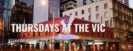 thursdays at the vic