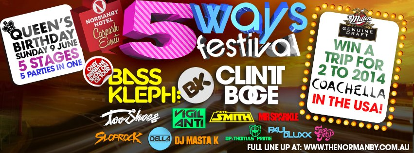 5 Ways Festival