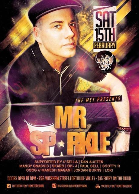 mr sparkle the met mainroom 15 feb 2014