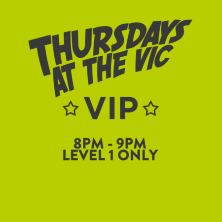thursdays at the vic