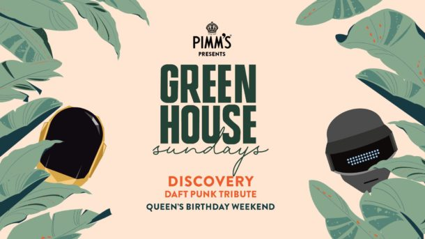Osbourne Hotel Green House Sundays   Daft Punk Tribute
