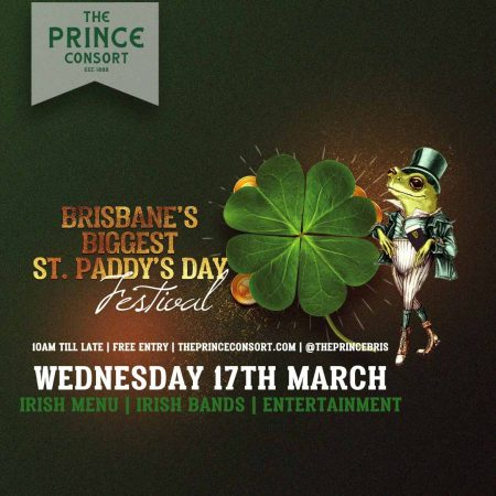 St Paddys Day -Prince Consort